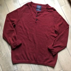 American eagle outfitters Henley crewneck sweater